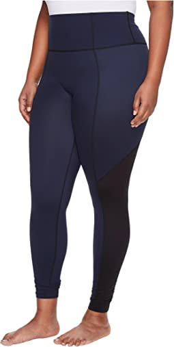 Plus Size Active Crop Pants