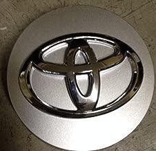 15 Inch OEM Toyota Camry 2012 2013 highlander 2008 2009 2010 2011 2012 2013 Factory Original Wheel Rim Silver Center Cap Hubcap Raised Emblem Mfg P/n: 2994 E