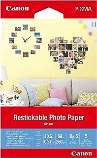 """Canon RP-101-4"""" x6 Restickable Photo Paper (3635C002)"""