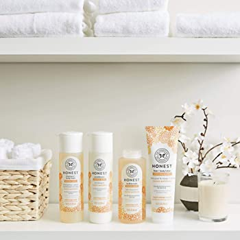 The Honest Company 2Piece Everyday Gentle Sweet Orange Vanilla Shampoo and Body Wash 10 Fl Oz Face and Body Lotion 8....