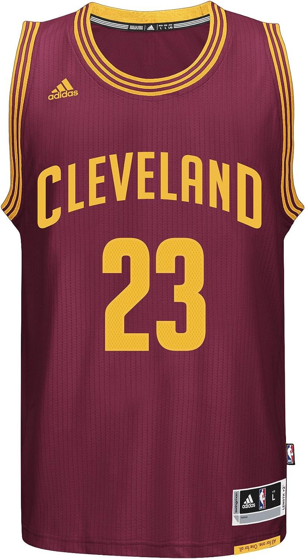 Lebron James Cleveland Cavaliers Adidas NBA Swingman JerseyBurgundy