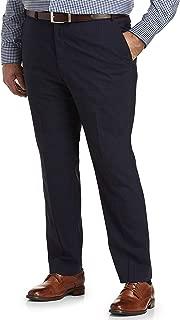 Cole Haan Plaid Suit Pants, Navy