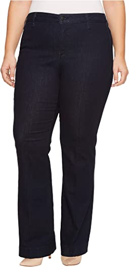 Plus Size Teresa Trouser Jeans in Rinse c1c0a25bffd10