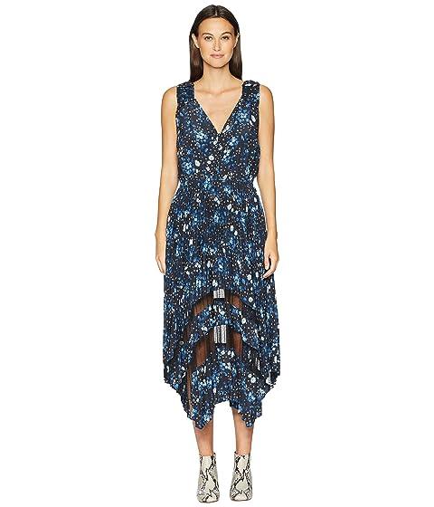 The Kooples Sleeveless Dot Print Maxi Dress