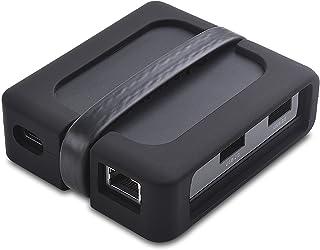 Cable Matters Dual Monitor USB C Hub (USB C Dock) med 2x 4K HDMI, 2x USB 2.0, Ethernet och 60W laddning - Thunderbolt 3 Po...