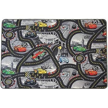Enfants Cars Routes Tapis gris 400x450 cm Disney/'s Cars