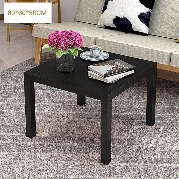 LTM MPZ Living Room Coffee Table Coffee Table Creative Multifunctional Tea Table Low Table 606050cm Color Black