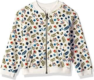 Gymboree Girls' Big Long Sleeve Zip Up Jacket