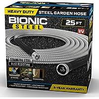 Bionic Steel 25 Ft Garden Hose 304 Stainless Steel Metal Hose