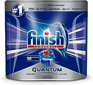 3 x FINISH PK100 POWERBALL QUANTUM MAX SUPERIOR CLEAN AND SHINE