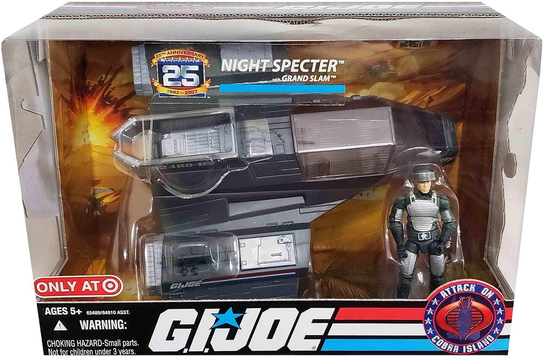 G.I. Joe Night Specter with Grand Slam Target Exclusive Fahrzeug & Figuren Set 25th Anniversary von Hasbro 2008