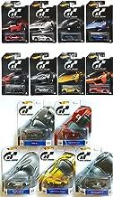 Hot Wheels Complete 2016 Gran Turismo Set - 5-Car Retro Entertainment and 8-Car Exclusive Bundle Set
