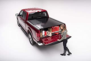 RetraxPRO Retractable Truck Bed Tonneau Cover | 40471 | fits Chevy & GMC 5.8' Bed (14-18), 1500 Legacy/Limited (2019)  & 2500/3500 (15-19) Wide RETRAX Rail