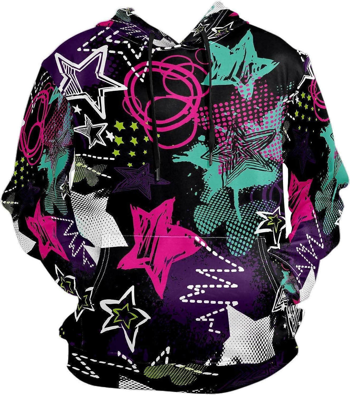 Men's Sport Hoodie Big and Tall Hoodies for Men Women Oversized Hooded Sweatshirt Hip Hop Pullover Hoodie Midweight Hood for Boys Girls