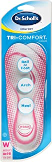 Dr. Scholl's TRI-COMFORT Insoles  Women's 6-10  Comfort for Heel, Arch and Ball of Foot