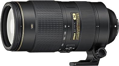 Nikon Obiettivo Nikkor AF-S 80-400 mm f/4.5-5.6G ED VR, Nero [Nital Card: 4 Anni di Garanzia]