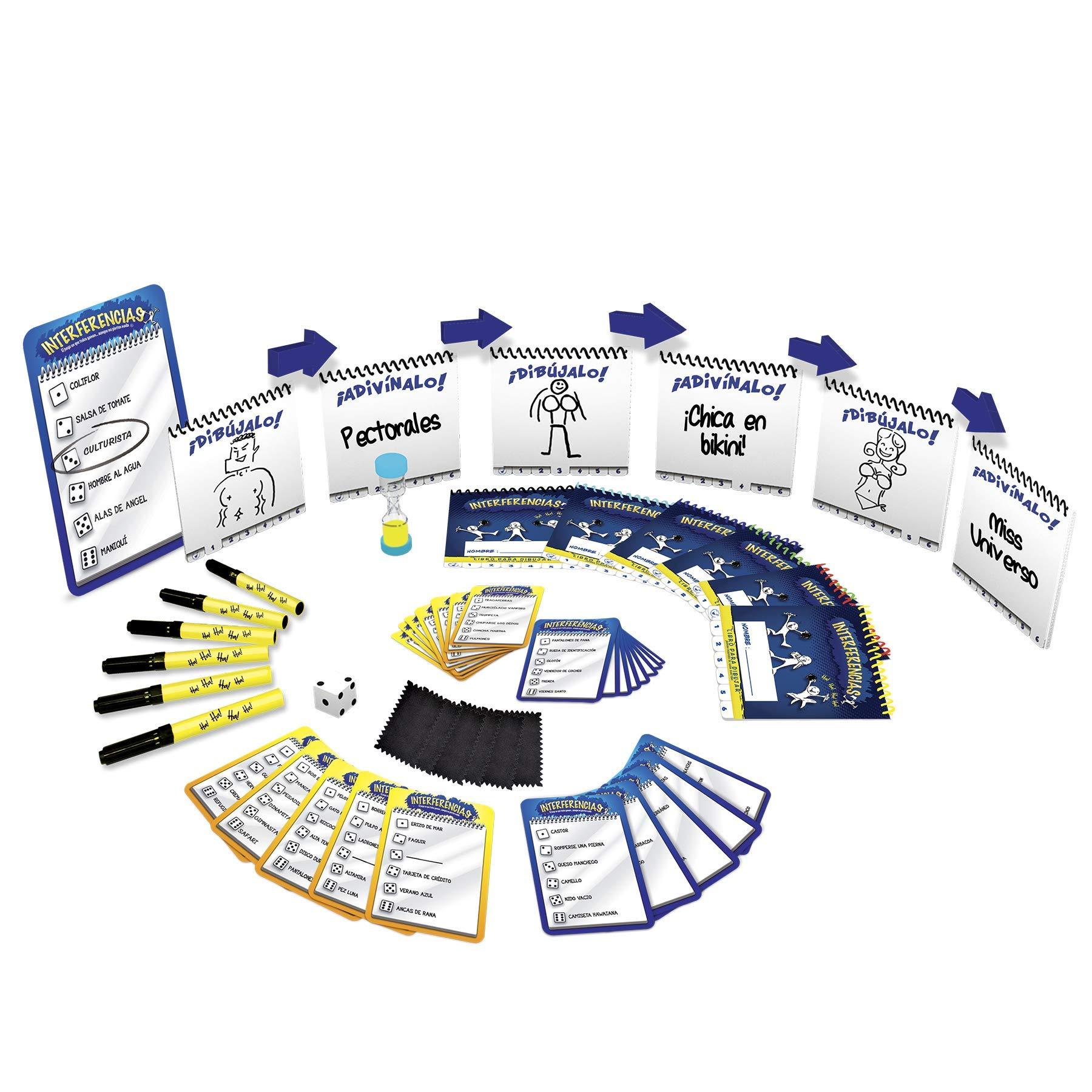 Goliath- Interferencias 6 Jugadores Juego de Mesa, Multicolor (76213): Amazon.es: Juguetes y juegos