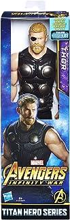 Marvel- Figura Titan Hero Series Infinity War, Thor (Hasbro E1424EU4)