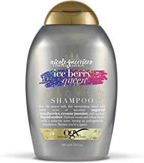 OGX Nicole Guerriero Limited Edition Ice Berry Queen Shampoo, 13 Ounce