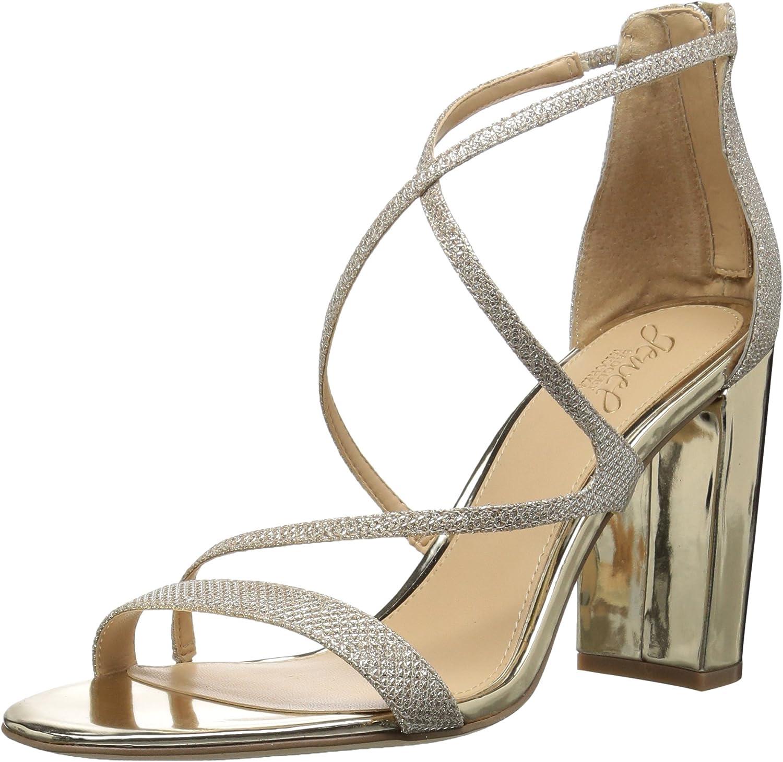 Badgley Mischka Womens Gale Heeled Sandal