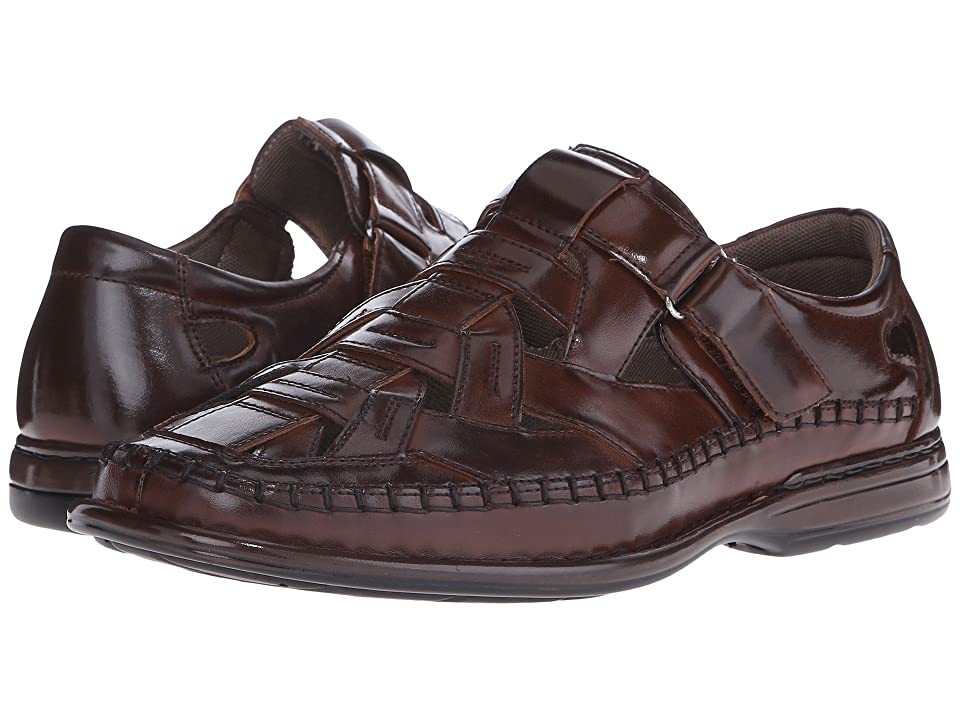 Stacy Adams Biscayne Fisherman Sandal (Brown) Men
