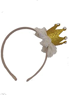 Jessica Rose Birthday Crown Girls Headband for All Party Occasions