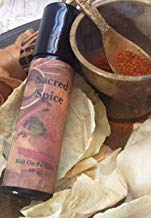 Sacred Spice Roll On Perfume Oil, Fragrance Oil, Vegan, Aromatherapy, Frankincense, Myrrh, Sandalwood, Patchouli, Cinnamon, Spikenard, Clove