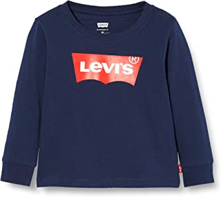 Levi's Kids Lvb L/S Batwing Tee - Top à Manches Longues Bébé garçon