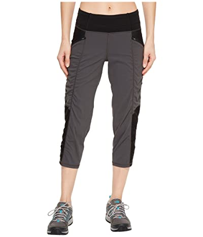 The North Face On the Go Mid-Rise Crop Pants (Asphalt Grey) Women