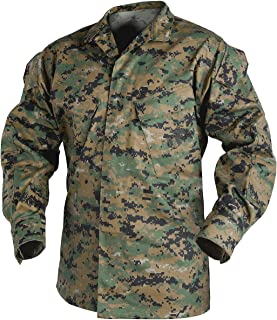 USMC Shirt Polycotton Twill Digital Woodland