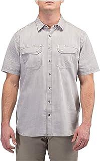 5.11 战术男士人字纹短袖衬衫