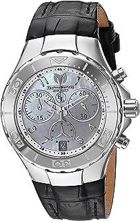 [テクノマリーン]TechnoMarine 腕時計 'Eva Longoria' Quartz Stainless Steel and Leather TM-416033 レディース [並行輸入品]