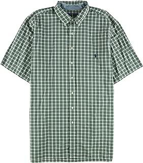 Mens Big Tall Classic-Fit P Hunter Button Up Shirt