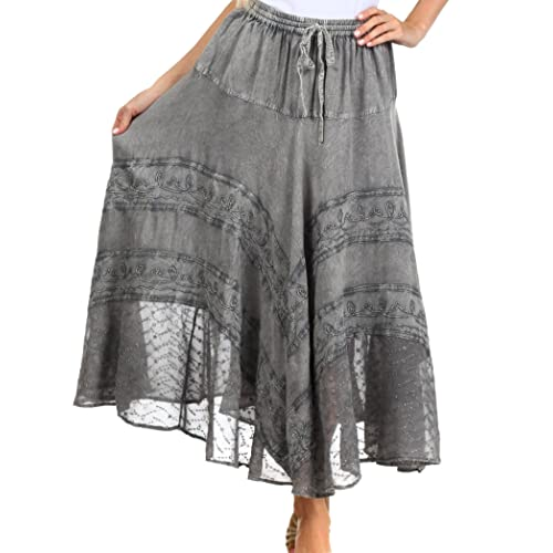 51840eb138c Plus Size Bohemian Skirt  Amazon.com