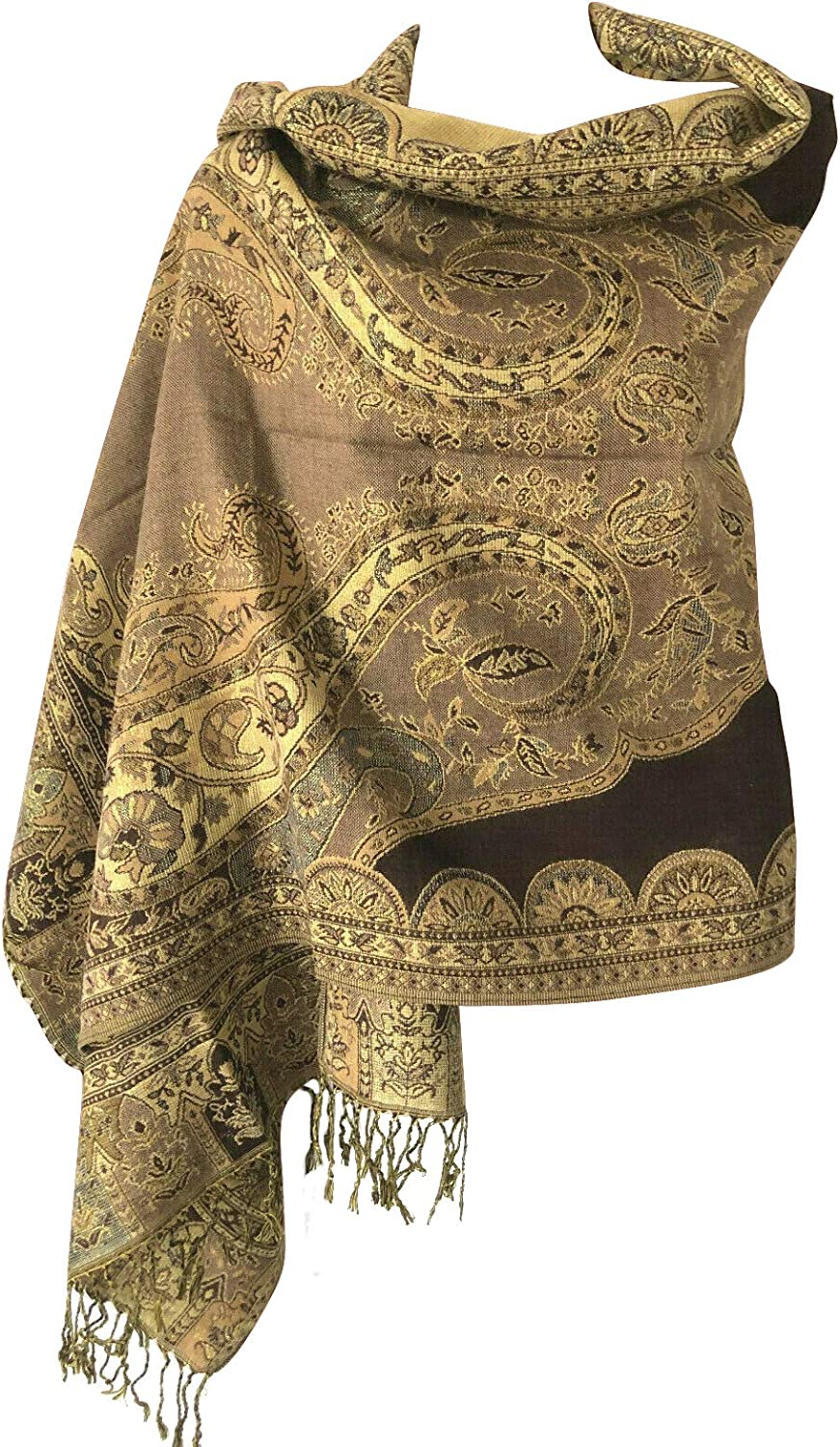Women Max 87% OFF Soft Metallic Sparkly Luxurious Reversible Double Layer Selling and selling Pa