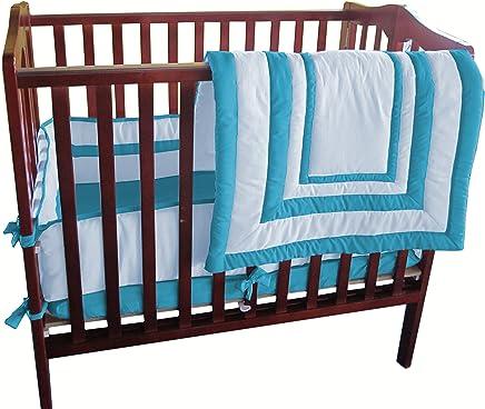 Baby Doll Candyland Cradle Bedding Set Navy