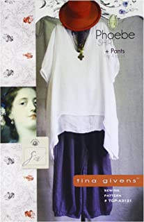 Tina Givens 3121 Sewing Pattern, Multicolor