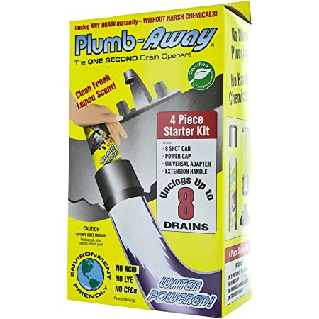 Plumb Away 100-ST 6 Oz Plumb-Away Starter Kit