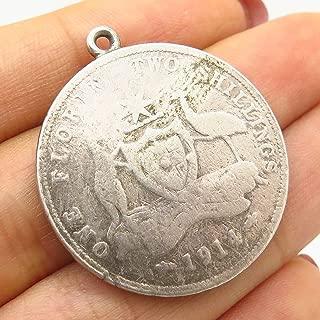 $1 Australian Coin Bezel Gold Filled Frame Mount Pendant