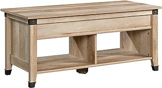 Sauder 423040 Carson Forge Lift Top Coffee Table, Lintel Oak finish