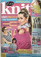 LET'S KNIT, MAY,2013 ISSUE 66 (THE UK'S BEST SELLING KNIT MAGAZINE)