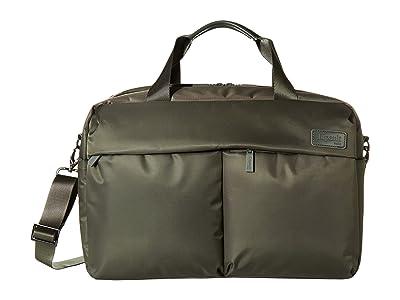 Lipault Paris City Plume 24 Hour Bag (Khaki) Handbags