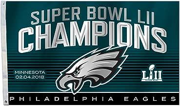 Fremont Die NFL Philadelphia Eagles Super Bowl 52 Champions 3 x 5-Foot Flag