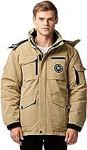 Orolay Men`s Warm Parka Jacket Anorak Winter Coat with Detachable Hood
