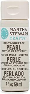 Martha Stewart Crafts Multi-Surface Pearl Acrylic Craft Paint in Assorted Colors (2-Ounce), 32127 Mother of Pearl