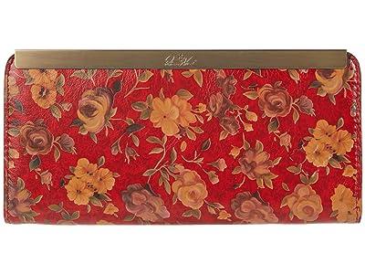 Patricia Nash Tulli Wallet (Rosso Fiore) Wallet Handbags