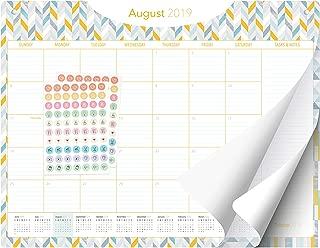 Desk Calendar 2019-2020 - 15 Months - March 2019 - June 2020 - Large Monthly Planner - 22