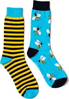 Calcetines divertidos de abejas y panal - Estampados hombre y mujer - Unisex