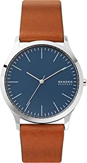Men's Jorn Quartz Leather Watch, Color: Brown, 20 (Model:...