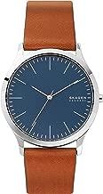 Skagen Men's Jorn Quartz Leather Watch, Color: Brown, 20 (Model: SKW6546)